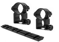 """Mounting Kit for Ruger 10/22 - 1"""" Heavy Duty Rings & 10/22 Scope Base Mount"""
