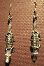 Ohrhänger,925er Silber,bewegliche Krokodile