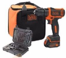 Trapano batteria Black & Decker 10,8V Litio 1,5Ah BDCDD12S32A 32 con borsa