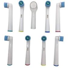 8 X Heads for Braun Oral-b Vitality 3d White Rechargeable Electric Toothbrush A8