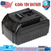 For Bosch 18V 18 Volt Max Li-ion 4.0Ah Battery BAT609 BAT618 BAT620 BAT611 NEW