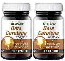 Lifeplan Beta Carotene – 2 x 60 capsules  - TWIN PACK