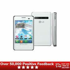 LG Optimus L3 e405 Doble Sim Desbloqueado Teléfono Móvil-Blanco
