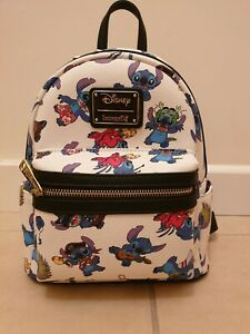 Loungefly Disney Stitch Costumes Rare Backpack Excellent Used Condition