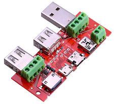 TYP C Micro USB mini USB Tester Strom Konverter Adapter Wiederstand lightning