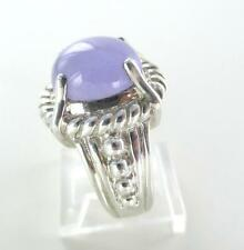 JUDITH RIPKA STERLING SILVER RING THAILAND SIZE 7 JEWELRY LAVENDER JADE NO SCRAP