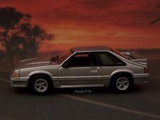 FOX BODY 1991 91 FORD MUSTANG GT 5.0 COLLECTIBLE 1/64 SCALE DIORAMA MODEL