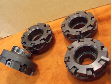 """Lovejoy 4NBX24R6 4"""" shell face mill 1.5"""" arbor 8 indexable 1/2"""" carbide inserts"""
