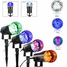 Gemmy LED Light Show Projection Kaleidoscope, Red,Green,Blue Swirling Light, NEW