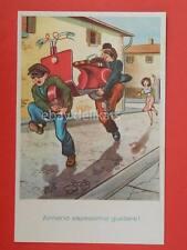 VESPA lambretta Piaggio vecchia cartolina ladri old postcard *