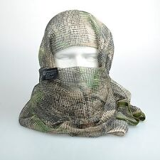 Mossy Oak Camouflage Tactical Mesh Scarf Wrap Face Cover Mask Shawl Sniper Veil
