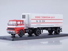 LIAZ 100.471 + semitrailer Alka N13CH Autoexport Skoda 100  SSM7038 1:43