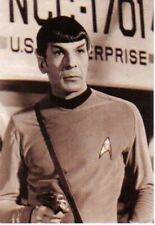 Star Trek The Original Series Spock 4 x 6 Glossy Sepia Postcard 1991 #3 Unused