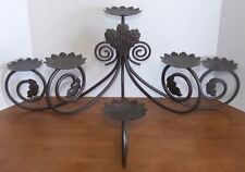 Partylite metal candle holders accessories ebay partylite metal scroll leaf viking large candelabra retired mozeypictures Images
