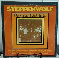 Steppenwolf -16 Greatest Hits- 1973  Dunhill  #DSX-50135 - Rock Vinyl LP-NM/VG+