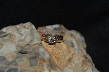 Cute Ladies 14kt  Diamond Engagement Ring Size 5 (3.6 grams)..