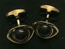 Paul Smith Gold surround with Brown Eyes Cufflinks