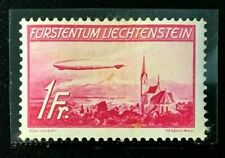 Liechtenstein Sc#C15 1936 Hinderburg Mint VLH OG VF (O-63)