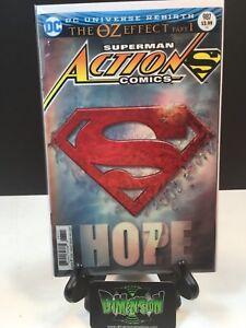 Superman Action Comics #987 Lenticular Cover