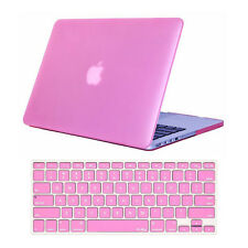 """Crystal Hard Shell Case+Keyboard Cover For MacBook PRO 13"""" Retina A1425 A1502"""