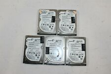 "Lot of 5 Seagate 756731-001 500GB 7200RPM 2.5"" 6Gbps SATA 32MB HDD ST500LM021"