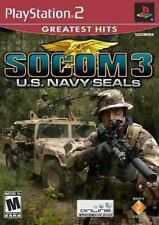 SOCOM 3: U.S. Navy Seals Game Greatest Hits PlayStation 2 PS2 Brand New & Sealed