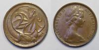 Scarce Key Date 1968 Australian 2c Two Cent Coin - Rare (KA150.1)