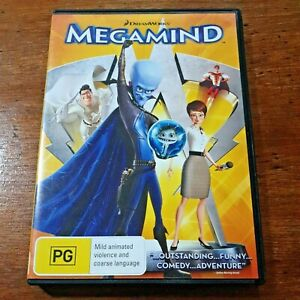 Megamind DVD R4 Like New! FREE POST