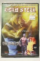 cold steel peter ho / tony leuing ntsc import dvd English subtitle