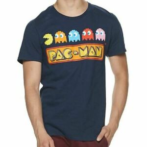 Navy Pac-Man Ghosts - Officially Licensed T-Shirt