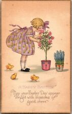 VINTAGE POSTCARD A HAPPY EASTER…SERIES 903A