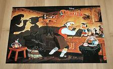Disney's Pinocchio very rare small Retro Club Nintendo Poster 42x28cm SNES