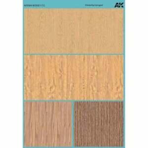 AK Interactive AK9084 Wood Decals 1/72   UK Seller