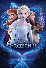 "Frozen 2 - Disney Movie Poster (Regular Style - Frozen Ii) (Size: 24"" x 36"")"
