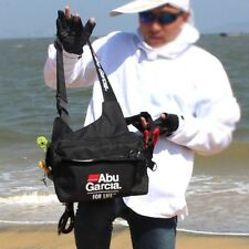 Fishing Tackle Bag ABU GARCIA Waterproof Pockets Waist Shoulder Reel Lure Bags