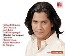 Bohorquez,Claudio - Don Quixote/Don Juan/Till Eulenspiegel - CD