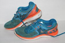 Zapatos Deportivos Nike Lunareclipse 4, #629682-40, Azul/Naranja/Blanco, nos para hombres 7.5
