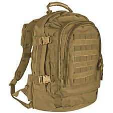 NEW - Military Tactical Duty Modular MOLLE Backpack - DESERT COYOTE TAN