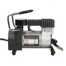 12V  Mini Metal Pump Heavy Duty Air Compressor Tire Inflator Gauge Splendid
