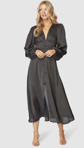 Pilgrim Harmonee Dress - Size 16 - Black - BNWT