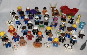 LEGO DUPLO - LARGE COLLECTION OF FIGURES & ACCESSORIES
