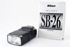 ⭐️Near MINT✈⭐️ Nikon Speedlight SB-26 Shoe Mount Flash From JAPAN 387