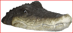 Floating Detailed Crocodile Head For A Pond or Water Feature In The Garden