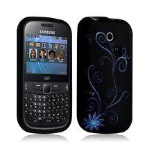 Housse coque étui en gel pour Samsung Chat 335 S3350 avec motif HF15