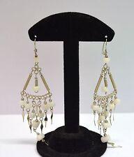 Boucles d'oreilles Péruvienne pendantes  issu du commerce équitable