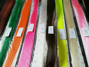"""EXTENTIONS 18"""" CLIP IN HIGH LIGHTS FASHION 100% SYNTHETICS FIBER LOTS COLORS"""
