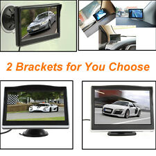5 Inch HD 800x480 Car Parking LCD TFT LED Mini Rear View Reverse Monitor - US