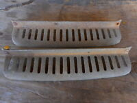 50's 60s 70s ? Vintage Vent Grill ? Car Automobile Hot Rod Rat Rod unknown make