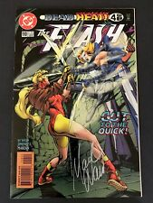 The Flash #110 - DEAD HEAT! - SIGNED BY MARK WAID VF