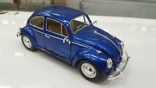 1967 Vw volkswagen Classical Beetle blue kinsmart model toy car 1/32 scale metal